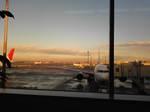 羽田空港の朝