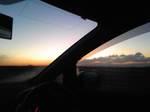 福山の朝焼け